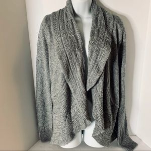 White House Black Market Waterfall Cardigan XL